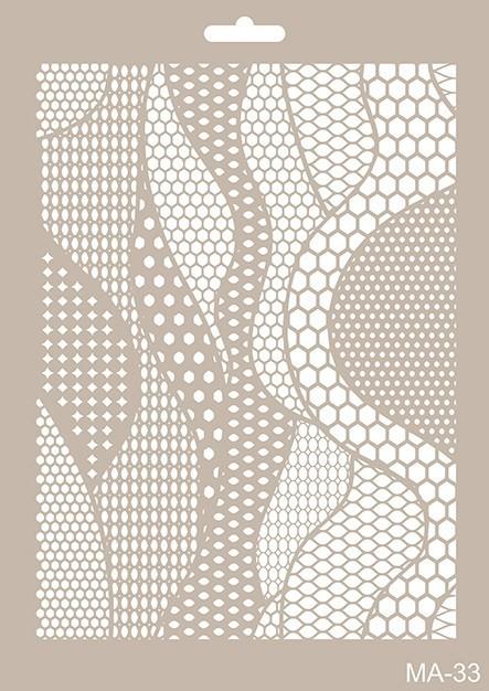 MA33 Mix Media Stencil