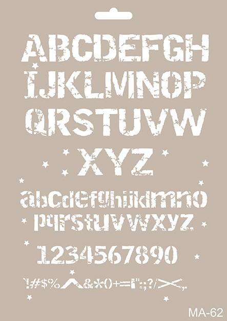 MA62 Mix Media Stencil