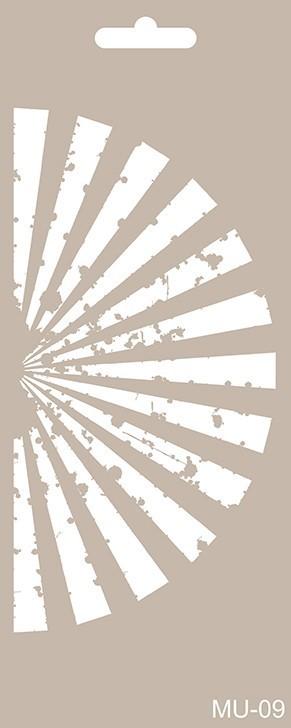 MU09 Mix Media Stencil