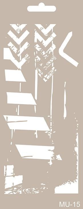 MU15 Mix Media Stencil