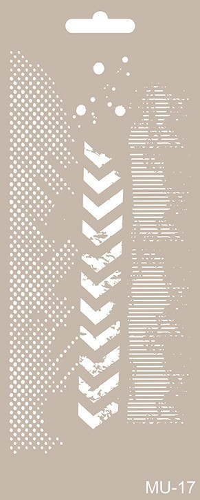 MU17 Mix Media Stencil