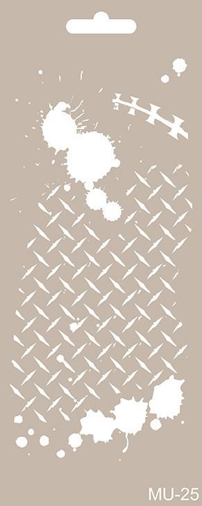 MU25 Mix Media Stencil
