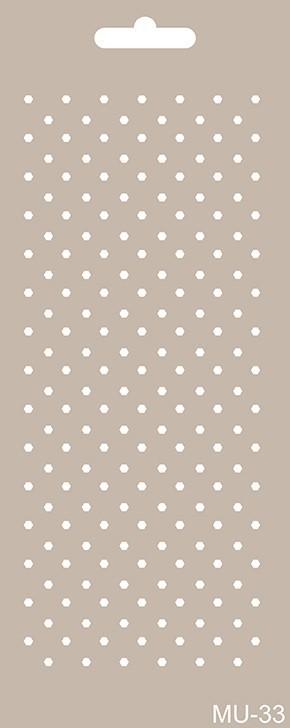 MU33 Mix Media Stencil