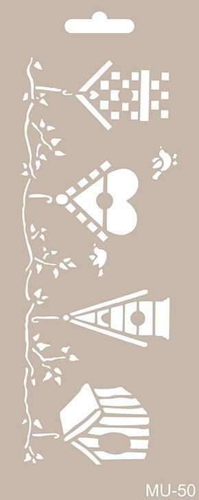MU50 Mix Media Stencil