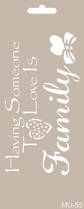 MU55 Mix Media Stencil