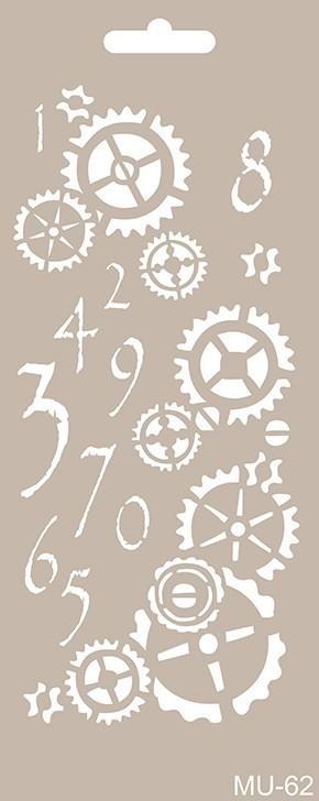 MU62 Mix Media Stencil