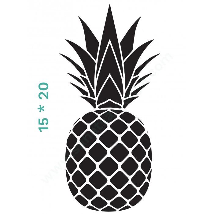 Ananas Model Cadence Stencil 15*20 Boyut