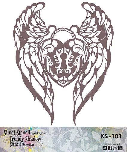 KS101 Silüet Stencil