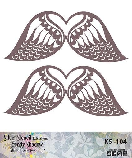 KS104 Silüet Stencil