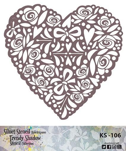 KS106 Silüet Stencil