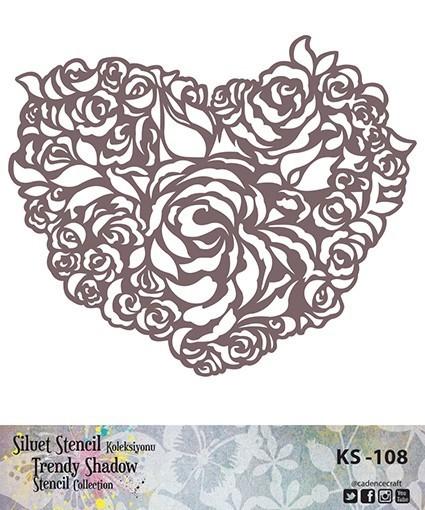KS108 Silüet Stencil