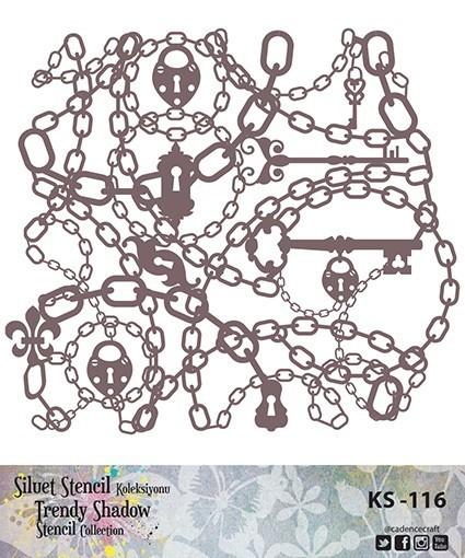 KS116 Silüet Stencil