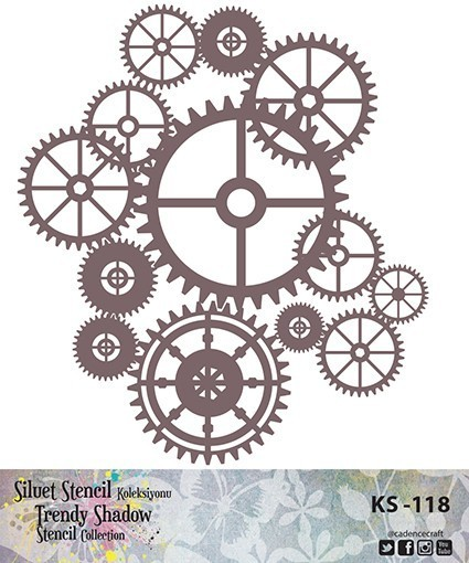 KS118 Silüet Stencil