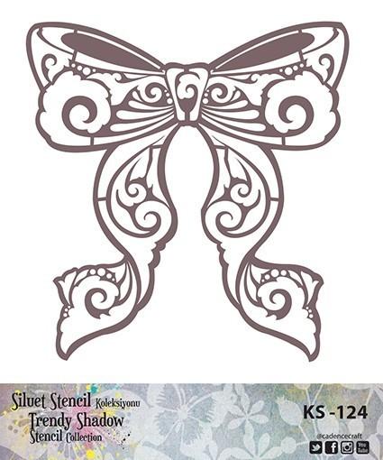 KS124 Silüet Stencil