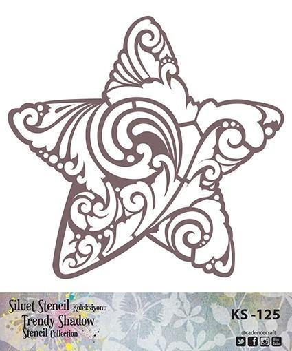 KS125 Silüet Stencil