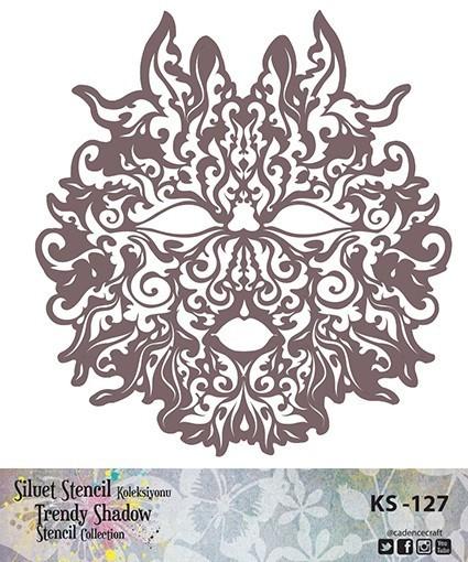 KS127 Silüet Stencil