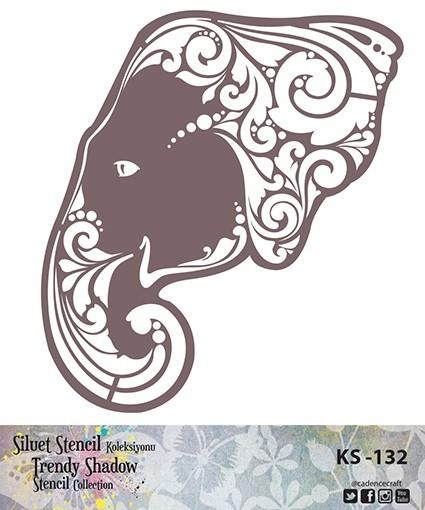 KS132 Silüet Stencil