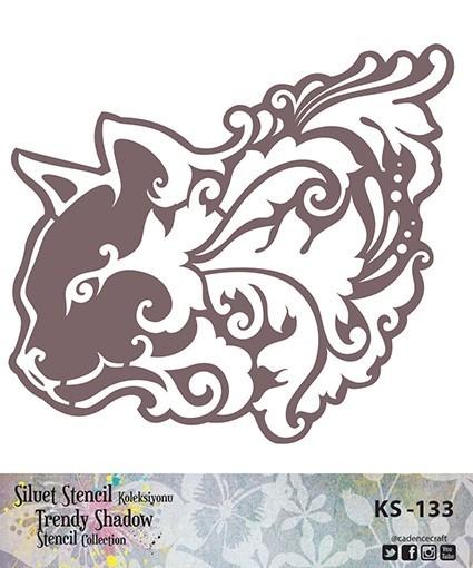 KS133 Silüet Stencil