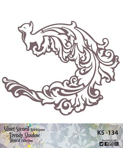 KS134 Silüet Stencil