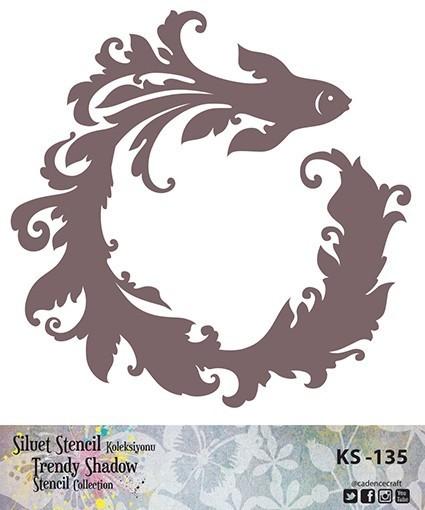 KS135 Silüet Stencil
