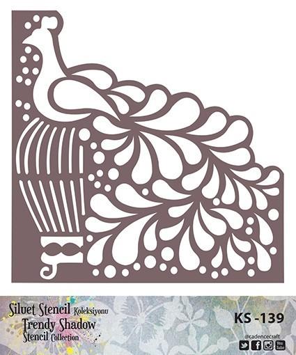 KS139 Silüet Stencil