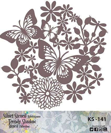 KS141 Silüet Stencil