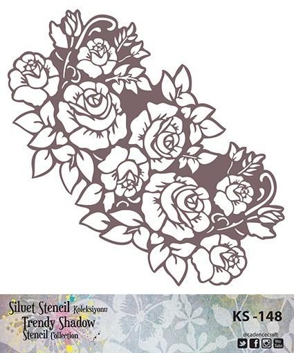 KS148 Silüet Stencil