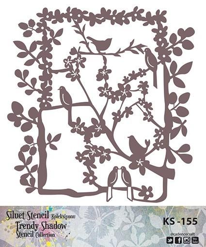 KS155 Silüet Stencil