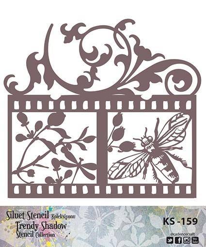 KS159 Silüet Stencil