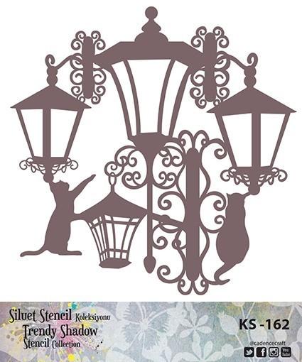 KS162 Silüet Stencil