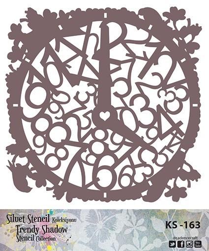 KS163 Silüet Stencil