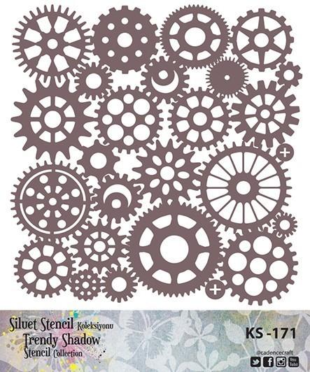 KS171 Silüet Stencil