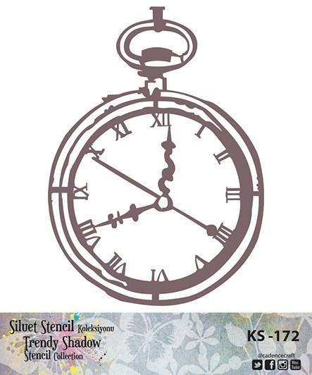 KS172 Silüet Stencil