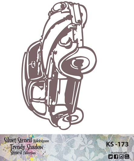 KS173 Silüet Stencil