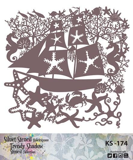 KS174 Silüet Stencil