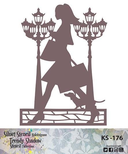 KS176 Silüet Stencil