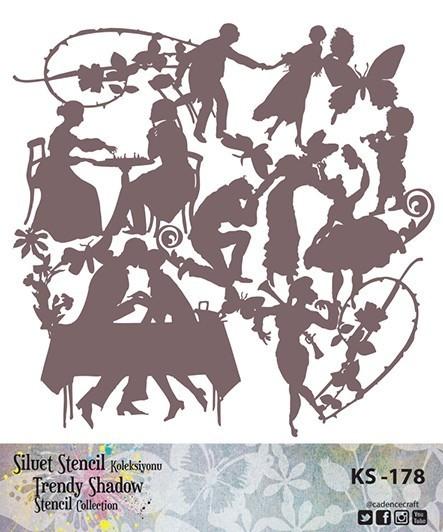 KS178 Silüet Stencil