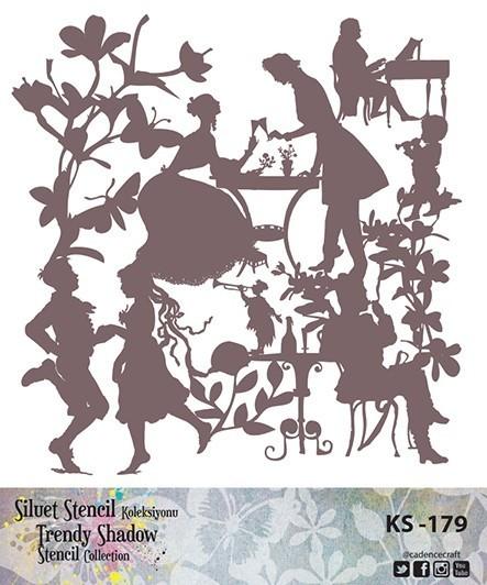 KS179 Silüet Stencil