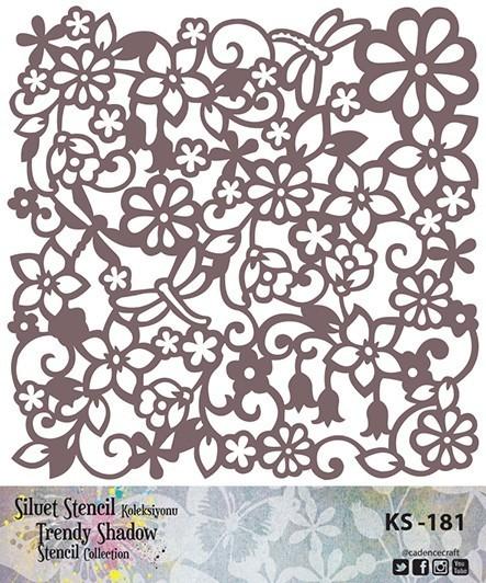 KS181 Silüet Stencil