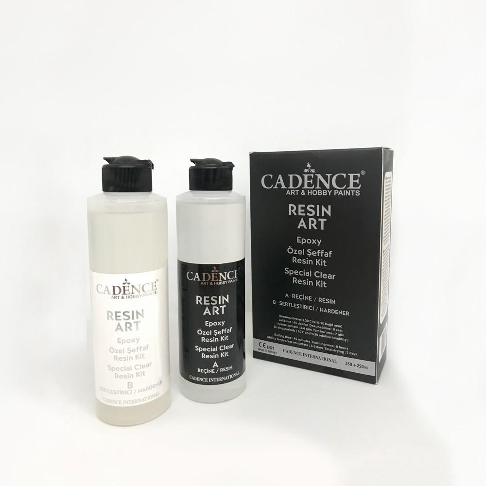 Cadence Resin Art Şeffaf Epoksi Takım  250ML