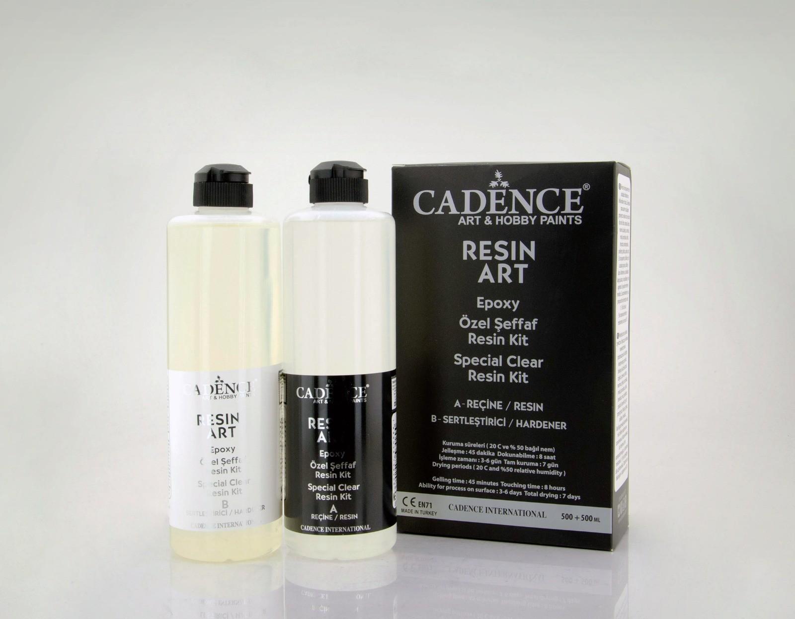 Cadence Resin Art Şeffaf Epoksi Takım 500 ML
