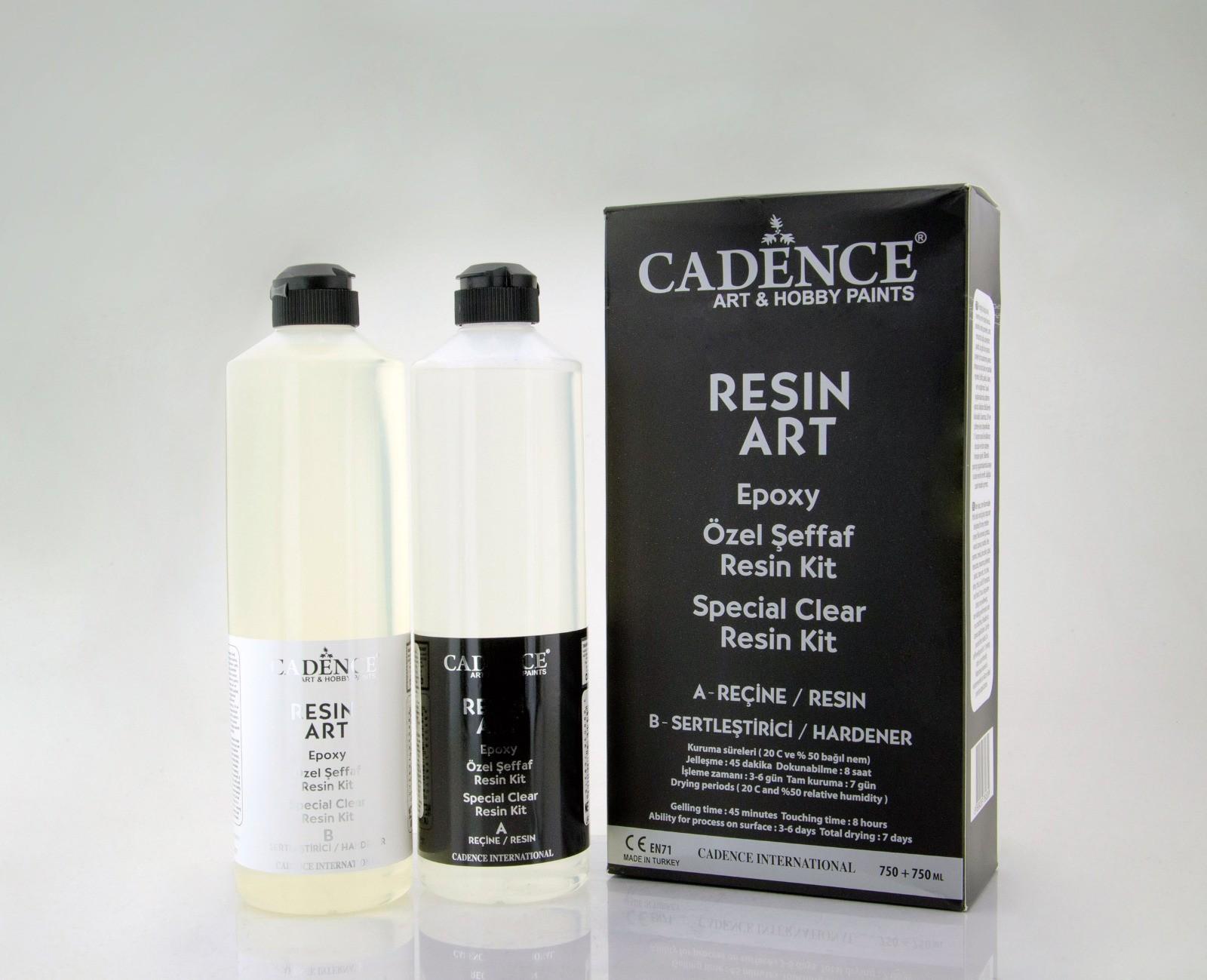 Cadence Resin Art Şeffaf Epoksi Takım 750 ML
