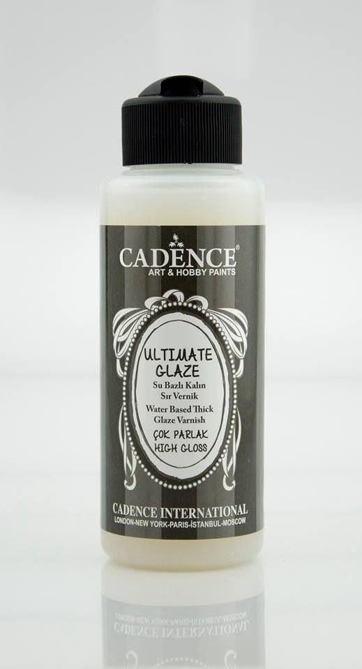 Cadence Ultimate Glaze - Kalın Sır Vernik 120ML PARLAK