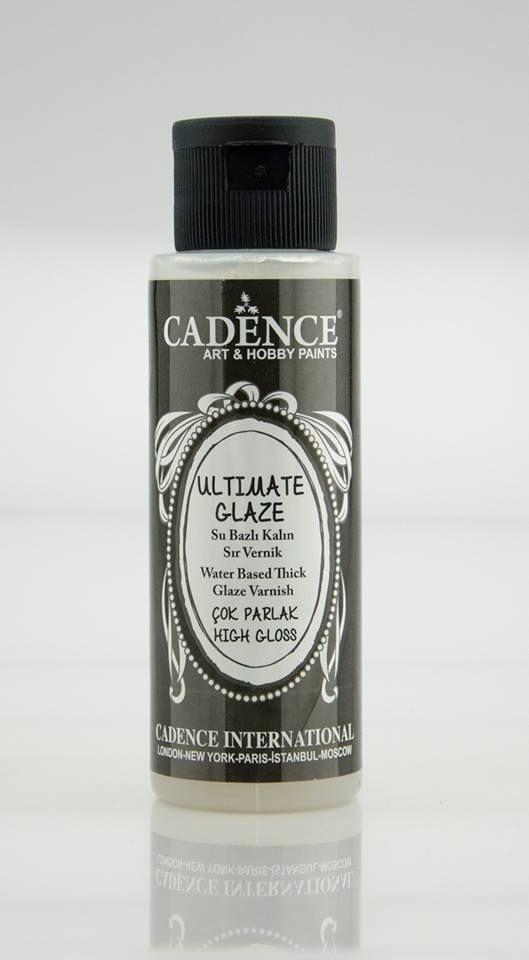 Cadence Ultimate Glaze - Kalın Sır Vernik 70ML MAT