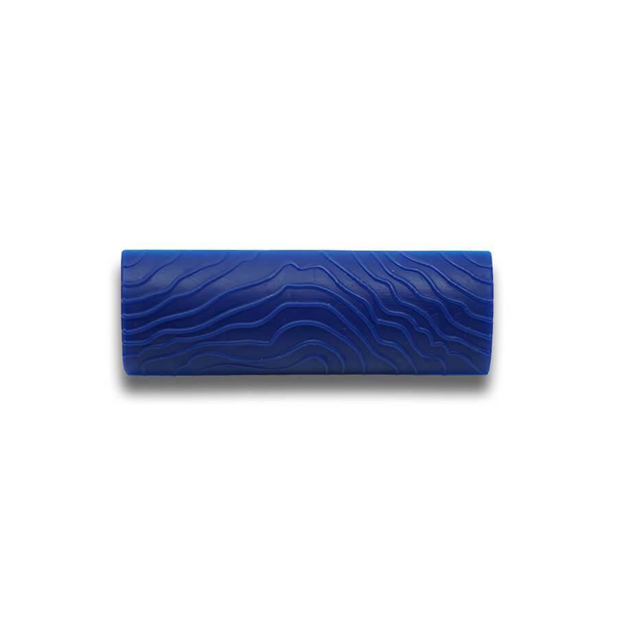 Mavi Dalga Desen Budak Tarağı 10CM