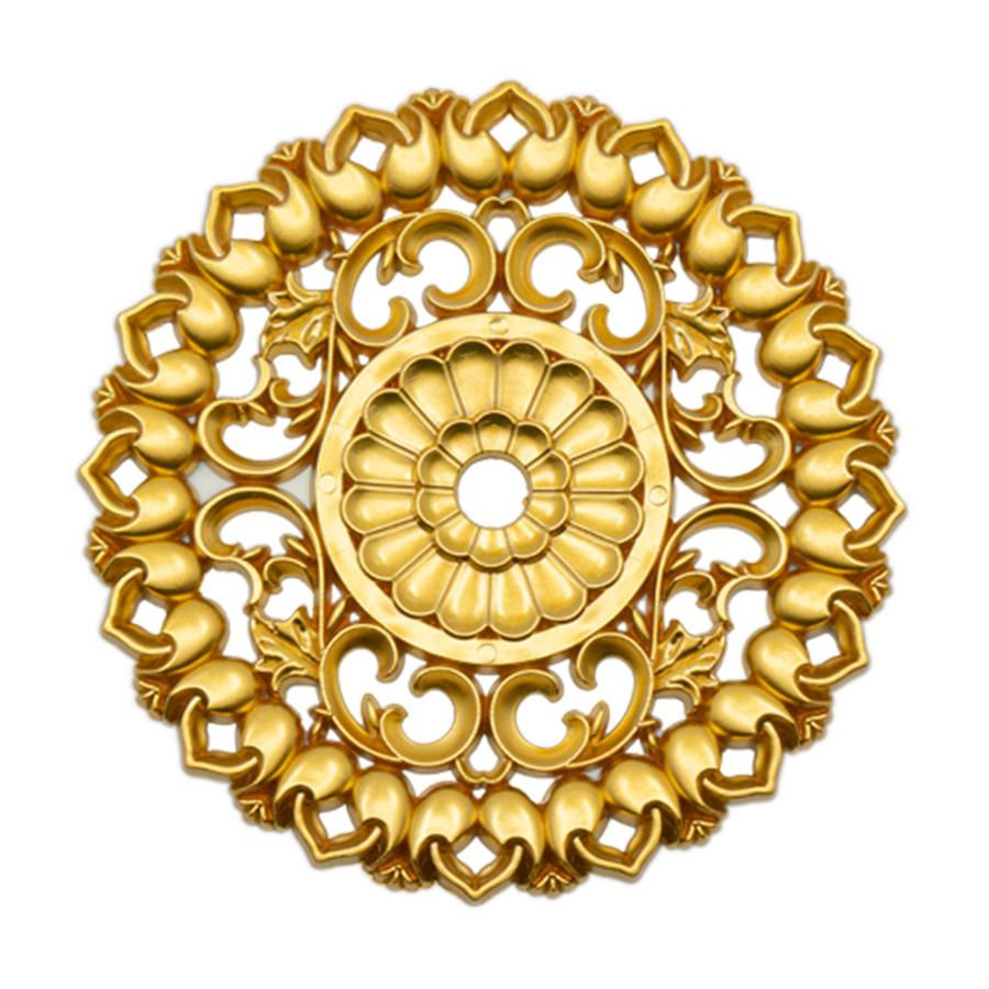 Hürrem Süs Altın   Gold Renk   Konsol Yapıştırma Süs   Mobilya Süs